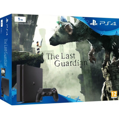 Sony PlayStation 4 Slim (PS4 Slim) 1TB + The Last Guardian