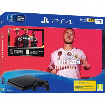 Sony PlayStation 4 Slim (PS4 Slim) 1TB + FIFA 20