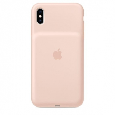 iPhone XS Max Smart Battery Case Pink Sand