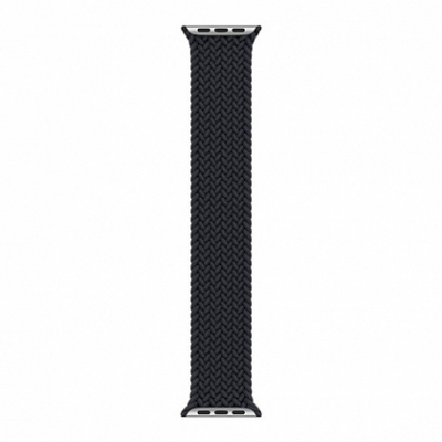 Ремешок Apple Watch Braided Solo Loop 42mm/44mm Charcoal - Size 10