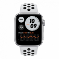 Смарт-часы Apple Watch SE Nike+ 44mm Silver Aluminum Case with Pure Platinum/Black Sport Band