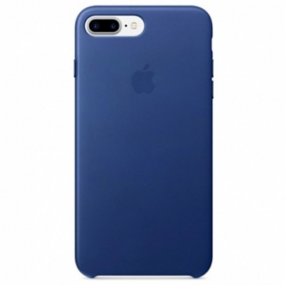 Чехол Apple Leather Case for iPhone 8 Plus/7 Plus Sapphire*