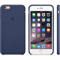 Чехол Apple Leather Case for iPhone 6 Plus Midnight Blue