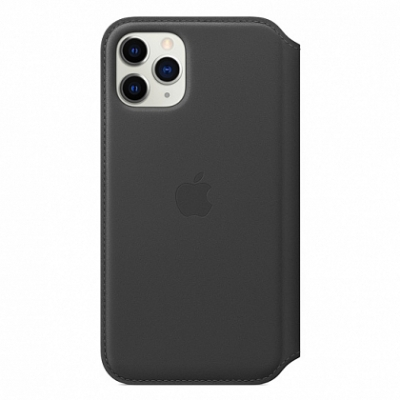 Чехол Apple Leather Folio for iPhone 11 Pro Black