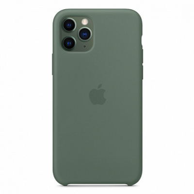 Чехол Apple Silicone Case for iPhone 11 Pro Pine Green