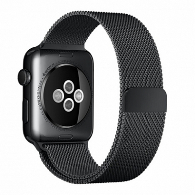 Ремешок Apple Milanese Loop Band Black for Apple Watch 42mm/44mm