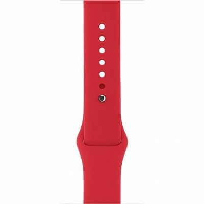 Ремешок Apple Sport Band for Apple Watch 38mm/40mm Product Red