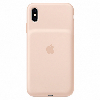 Чехол Apple Smart Battery Case for iPhone XS Max Pink Sand
