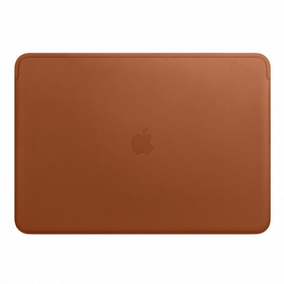 "Чехол Apple Leather Sleeve Case for MacBook Pro 15"" Saddle Brown"