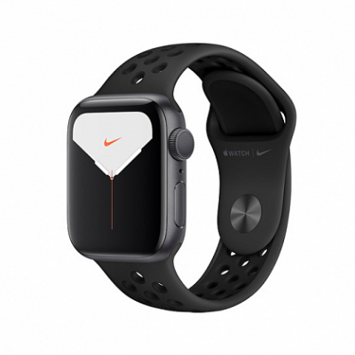 Смарт-часы Apple Watch Series 5 Nike+ 40mm Space Gray Aluminum Case with Anthracite/Black Sport Band