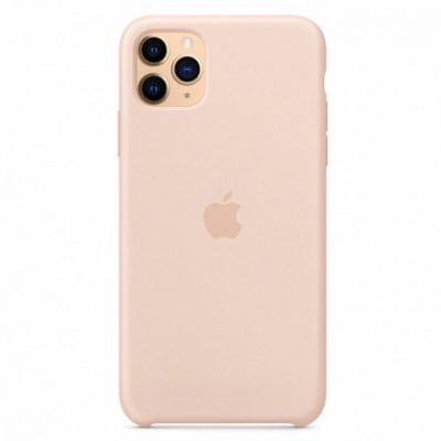 Чехол Apple Silicone Case for iPhone 11 Pro Max Pink Sand