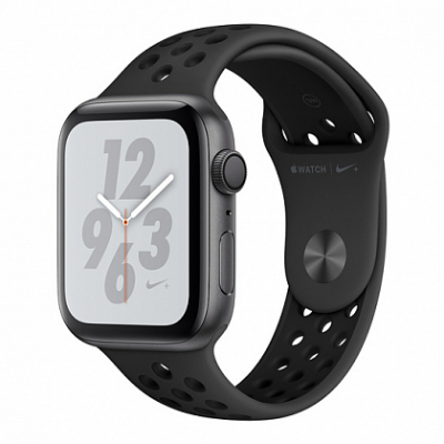 Смарт-часы Apple Watch Series 4 Nike+ 44mm Space Gray (Темно-серый) Aluminum Case with Anthracite/Black Sport Band