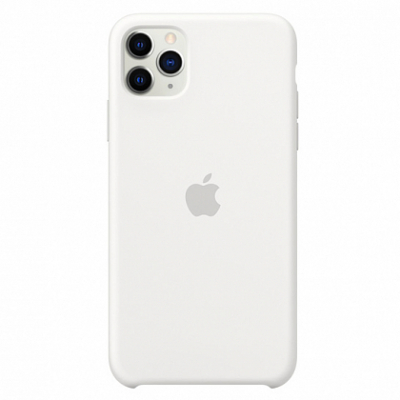 Чехол Apple Silicone Case for iPhone 11 Pro Max White