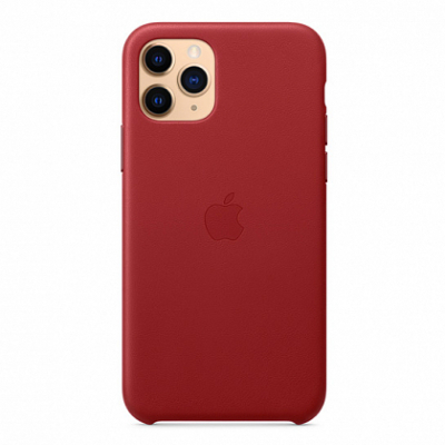 Чехол Apple Leather Case for iPhone 11 Pro (PRODUCT)RED