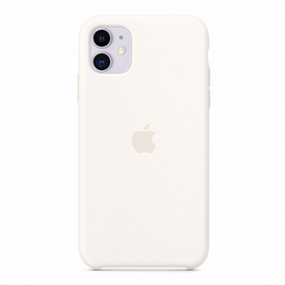 Чехол Apple Silicone Case for iPhone 11 White