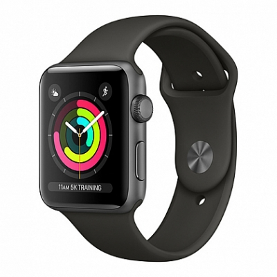 Смарт Часы Apple Watch Series 3 42mm Space Gray Aluminum Case with Gray Sport Band