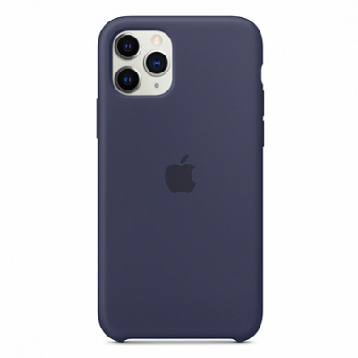Чехол Apple Silicone Case for iPhone 11 Pro Midnight Blue