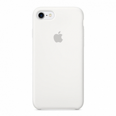 Чехол Apple Silicone Case for iPhone 8/7 White*