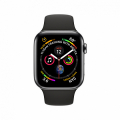 Смарт-часы Apple Watch Series 4 + LTE 40mm Black Stainless Steel with Black Sport Band